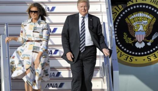 トランプ大統領来日2019令和初の国賓、接待ゴルフに相撲観戦など大成功!?