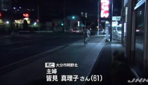 皆見真理子の顔画像やプロフィールは?17歳高校生の自転車にぶつけられ死亡!
