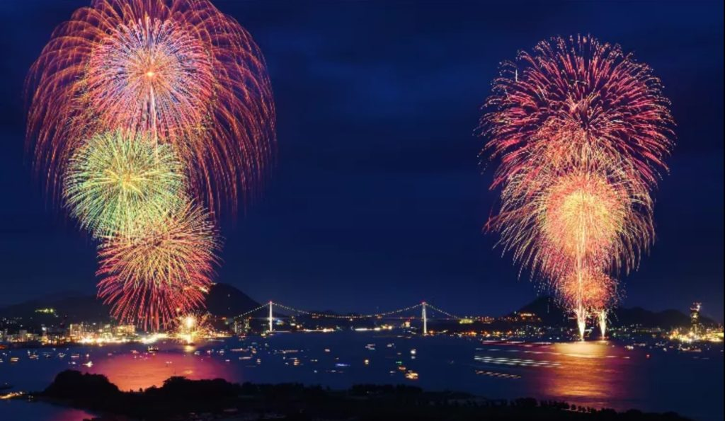 関門海峡花火大会2019穴場スポット下関側おすすめ5選!有料席情報も ...