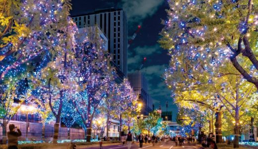 大阪イルミネーション2019おすすめの穴場を紹介!三大人気ランキングも!
