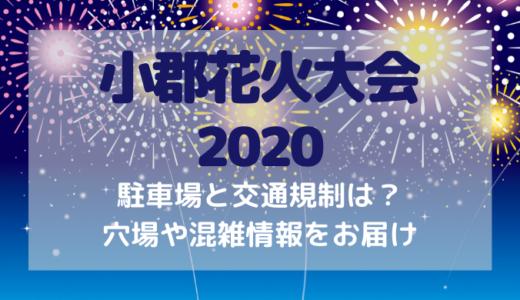 小郡花火大会(夢HANABI)2020の駐車場と交通規制は?穴場や混雑状況を調査!