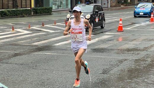 設楽悠太が初V!熊日30キロロードレース悪天候の中攻めの走りで魅せた!
