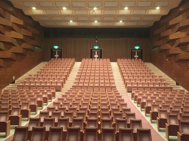 コンサート観客席