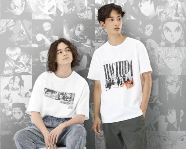 鬼滅の刃ユニクロTシャツ