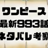 ワンピース 最新993話考察 ONE PIECE