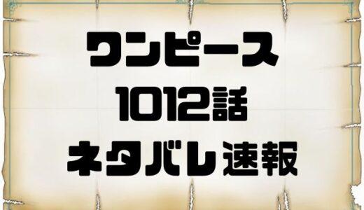ワンピース1012話のネタバレ考察と感想まとめ!ナミ怒りの雷撃!!