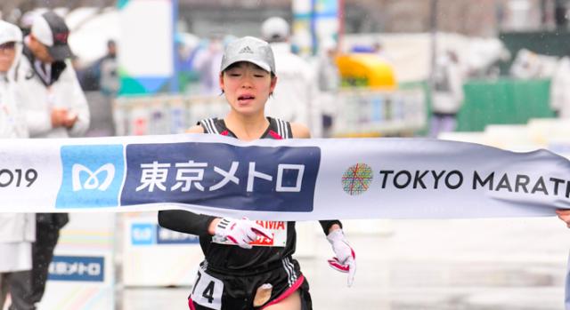 一山麻緒東京マラソン