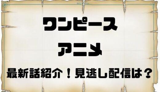 ワンピースアニメは今何話?最新話は漫画のどこまで?見逃し配信はある?